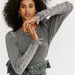 Free People Tasha Thermal Top